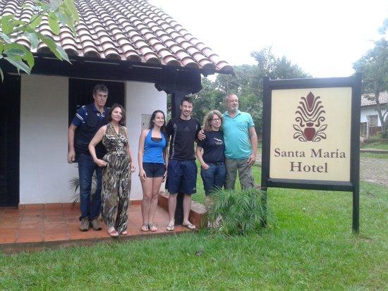 Santa Maria de Fe, Paraguay: Visita