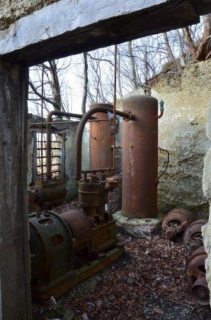Vicchio, Italia: i motori a vapore per frantumare la pietra