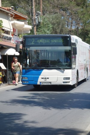 Capsis Astoria Heraklion Hotel: #2 bus can be caught directly in front of the hotel to get to the archaeological site.