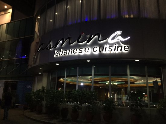 Front View Of Restaurant Picture Of Yasmina Lebanese Cuisine
