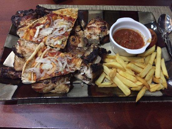 Yasmina lebanese cuisine accra restaurant bewertungen for Cuisine yasmina