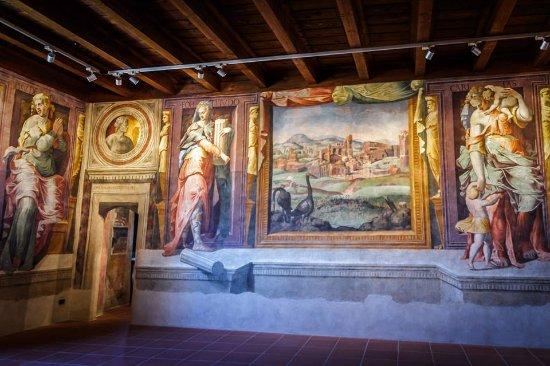 Gambatesa, Italien: Foto by Angelo Tullio - Salone delle virtù