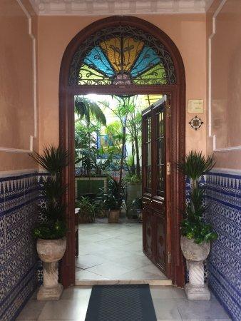 Hotel San Andres II: Entrada