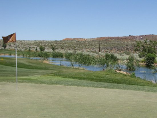 The Ledges Golf Club in St. George : View from 9th hole
