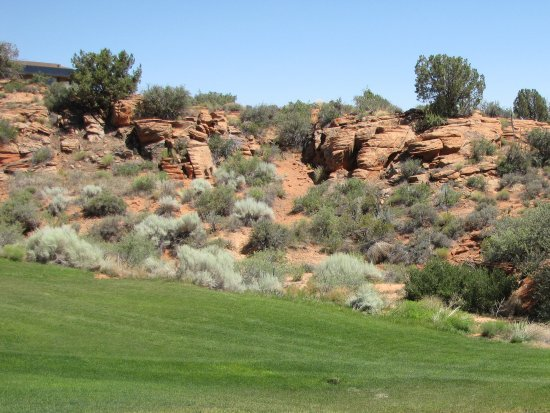 The Ledges Golf Club in St. George : Fairway view