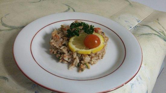 Hotel les Alleux : Salade du pêcheur