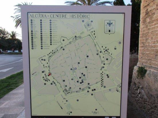 Stadtplan - Bild von Alcudia Old Town, Alcudia - TripAdvisor