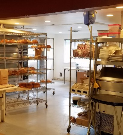 Creswell, OR: Crewswell Bakery kitchen racks