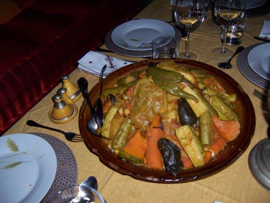 Riad Mazal : cuisine marocain