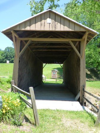 Jack's Creek Covered Bridge Resmi