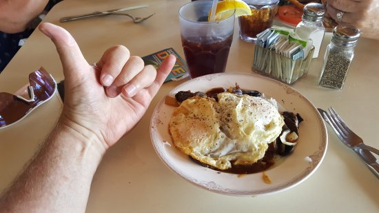 Joe's on the Green: Loco Moco, Hearty, filling and tasty. A local favorite.