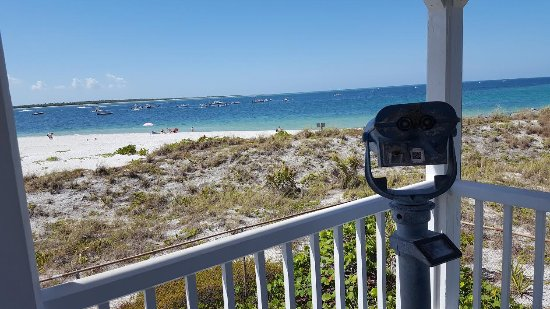 Boca Grande, FL: View from the Front Porch of the Lighthouse