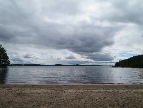 Keuruu, Finland: The beach