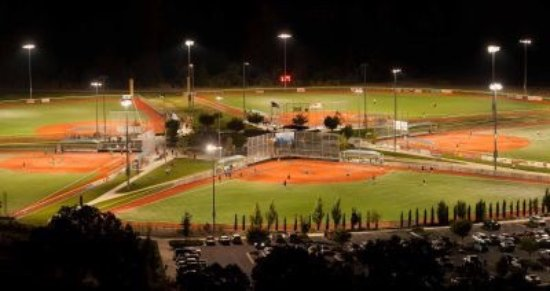 Superb Sports Fields At US Cellular Community Park Medford - Us cellular community park map