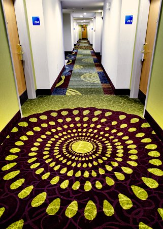 Holiday Inn Express & Suites Lincoln East - White Mountains : Newly renovated hallways