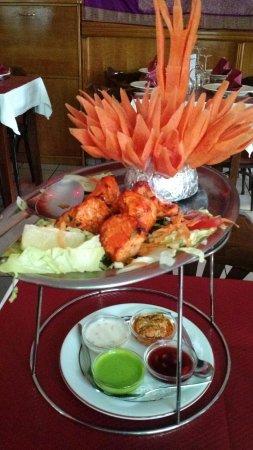 New Bombay : Poulet tikka (entrée)