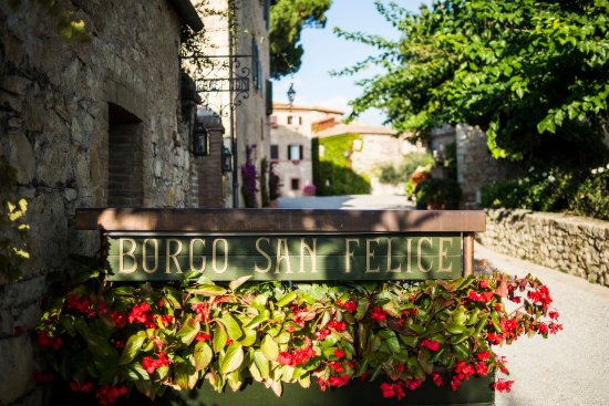 Hotel Borgo San Felice: Welcome