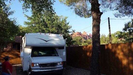 Rancho Sedona RV Park: Hill Top Site