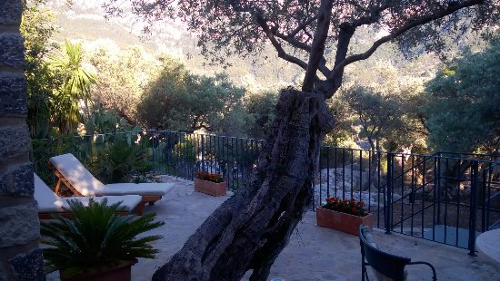 Hotel Sa Pedrissa: garden suite patio