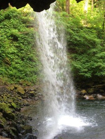 Hood River, Орегон: Ponytail Falls