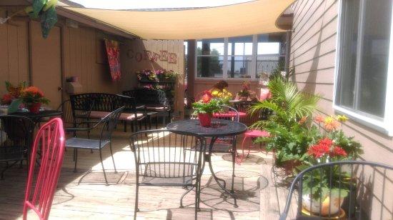 Eagle River, WI: Outdoor patio
