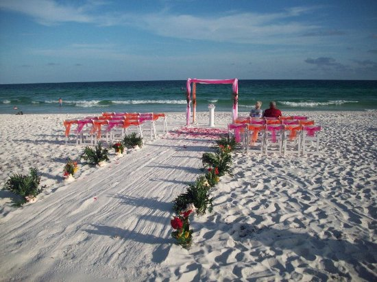Henderson Beach State Park Wedding