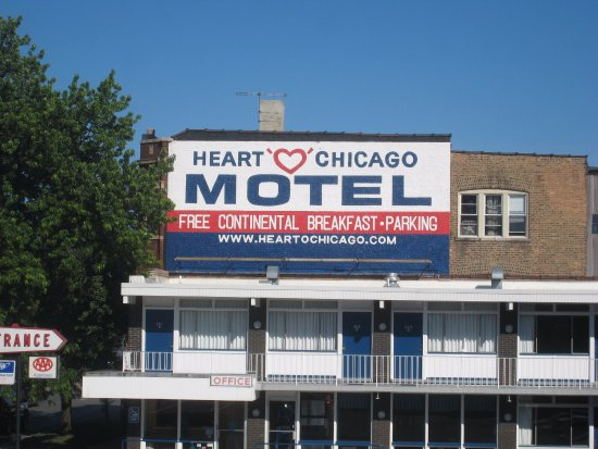 Picture of heart o 39 chicago motel chicago for Motels in chicago