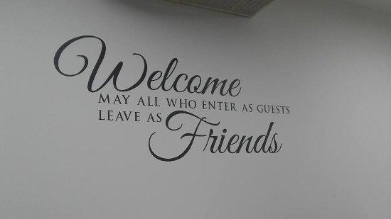 MStay Hyde Park Hotel : Benvenuto
