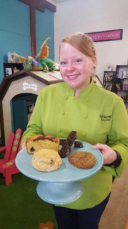 Americus, Georgien: Bittersweet's Pastry Chef Kelli Taranto