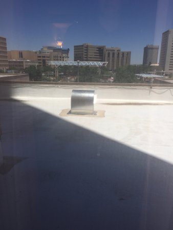 Hyatt Regency Albuquerque: View from room 302 (or lack of it)