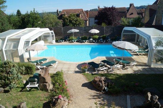 Siorac-en-Périgord, Francia: Piscine