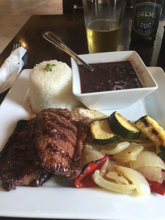 Sabor de Vida Brazilian Grill: Great looking lunch ! Loved every bite!