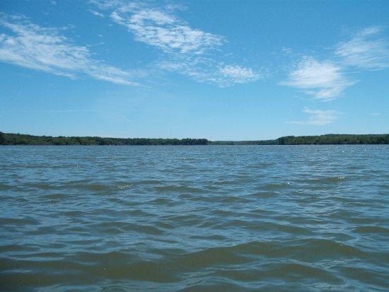 Ravenna, OH: Michael J. Kirwan Reservoir (West Branch Lake) is 2650 acres.