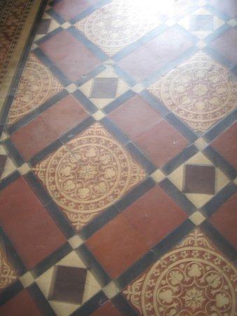 Original Minton Floor Tiles Entrance Hall Picture Of Eaton House