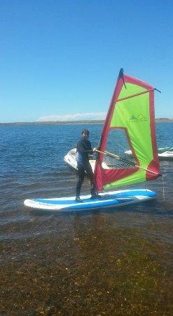 Floras Lake Windsurfing & Kiteboarding : Great fun!