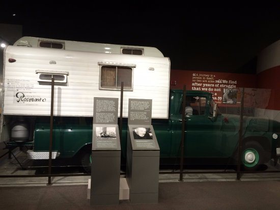 National Steinbeck Center: Mr Steinbeck's truck and camper