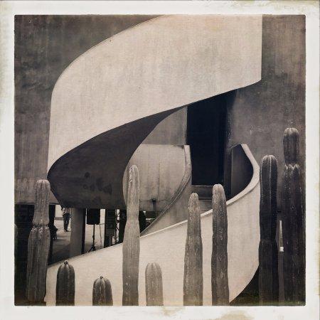 Museo Estudio Diego Rivera y Frida Kahlo: Escalera