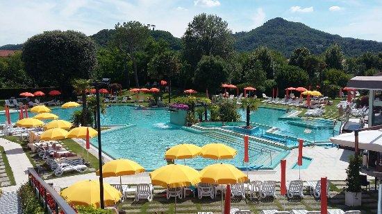 Hotel Garden Terme: Panoramica piscina