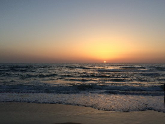 Dan Panorama Tel Aviv: Sunset across the street