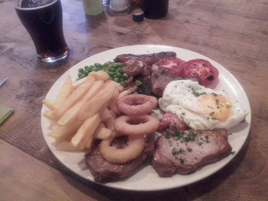 Tutbury, UK: What a fantastic mixed grill