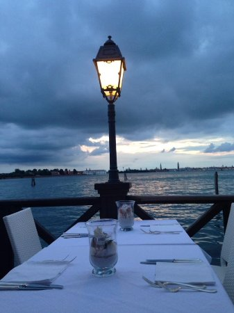 Villa Laguna: cena romantica