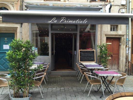 La Primatiale : La façade du restaurant