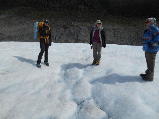McCarthy, Alaska: Getting a geology lesson
