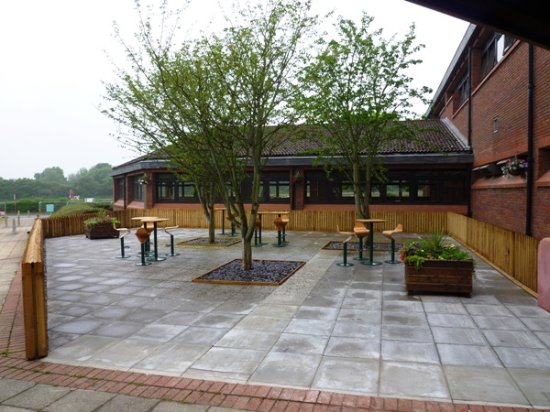Yarnfield Park Training And Conference Centre Outside Seating