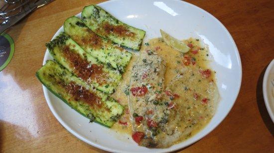 Olive Garden: Tilapia Piccata