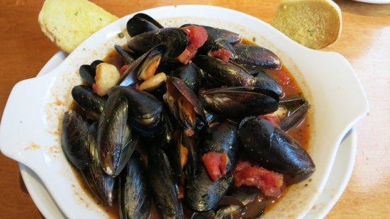 Garlic Mussels Picture Of Olive Garden Orlando Tripadvisor