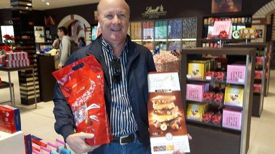 Kilchberg, Sveits: Experiência extravagante. Visitação muito adequada para os amantes de chocolate.
