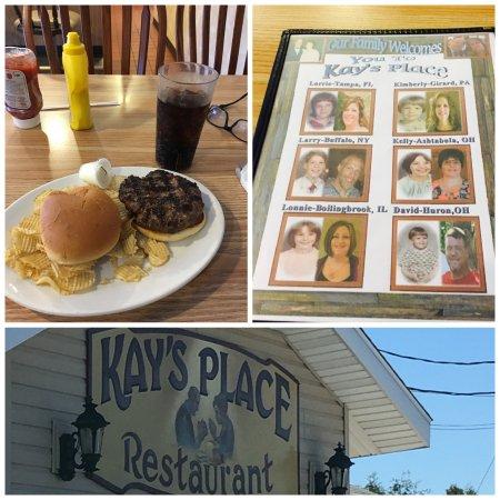 Kingsville, OH: good burger