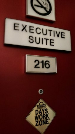 Days Inn Amarillo East: The alleged executive suite