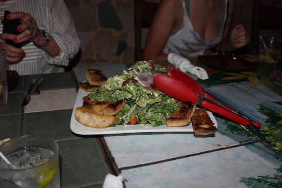 Nuevo Arenal, Kostaryka: The salad was amazing!